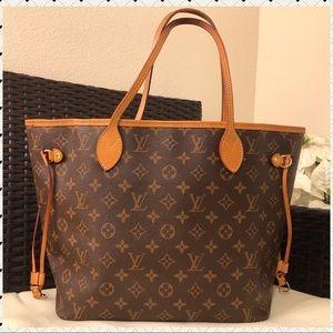 Authentic Louis Vuitton Pivoine neverfull MM
